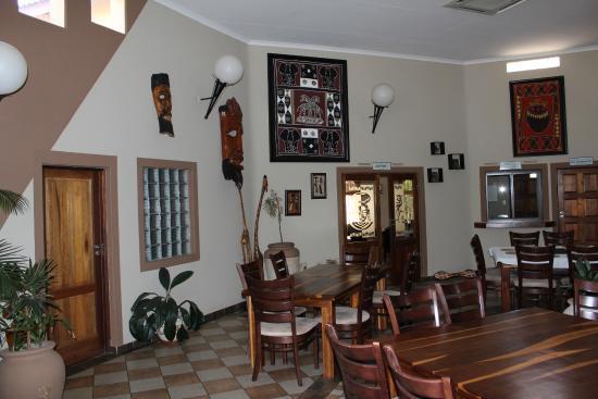 Lephalale, Afrika Selatan: Dinning room