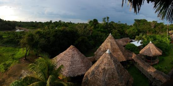 Amazon Rainforest Lodge: Vista del lodge