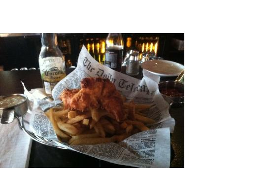 Five Roses Pub: Fish and Chips