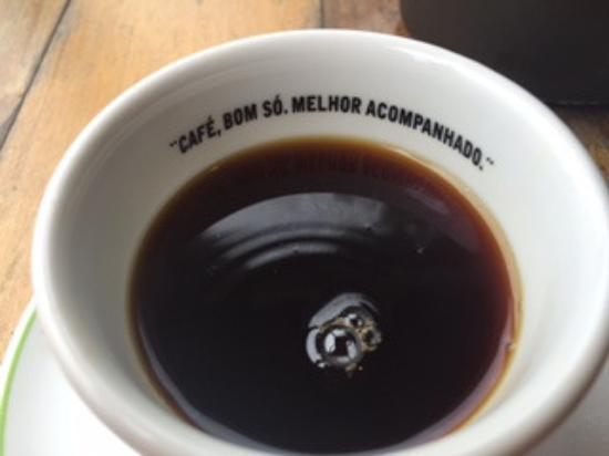 Detalhe Da Frase Na Xícara Picture Of Cafe Cultura