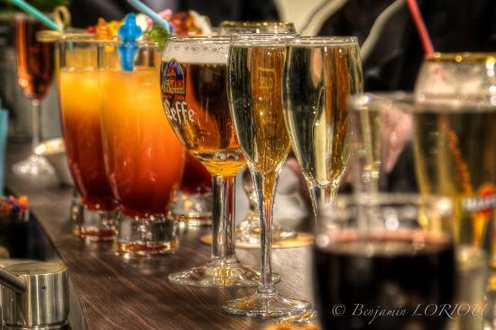 La Roche-Posay, Frankrike: boissons