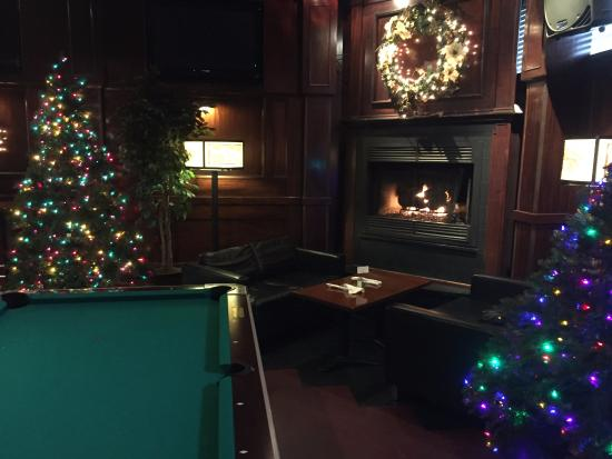 Cozy Fireplace and Gameroom - Picture of Northside Bar & Grill ...