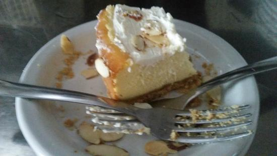 Martinsville, IN: Almond Cheesecake Almost Gone!