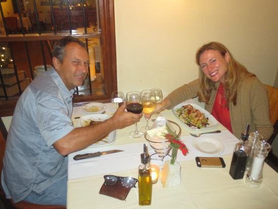 Bacchus: A great anniversary dinner!