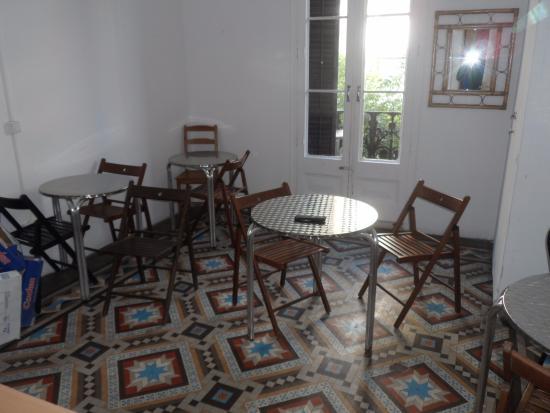 Lenin Hostel: Area comum
