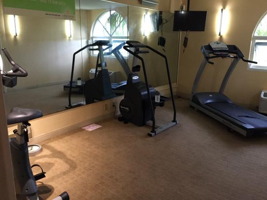 La Quinta Inn & Suites Miami Lakes: The gym