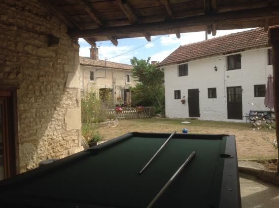 Chaunay, Francia: Games room