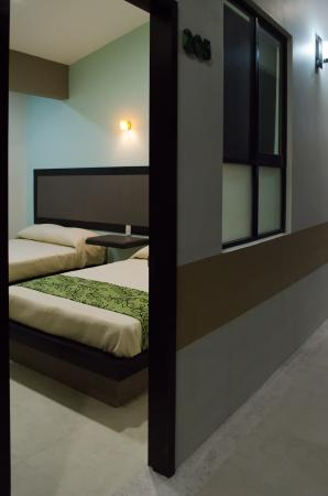 Hotel Posada del Ángel: Habitación desde el exterior