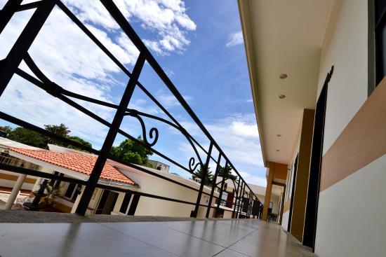 Hotel Posada del Ángel: Pasillos del hotel