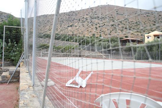 Elounda Ilion Hotel: Теннисный корт
