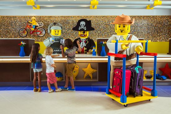 Legoland Florida Resort: Check-in with your favorite LEGO Characters!