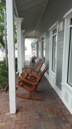 Greene Street Cigar Company Hand-Carved Rocking Chairs! & Hand-Carved Rocking Chairs! - Picture of Greene Street Cigar Company ...