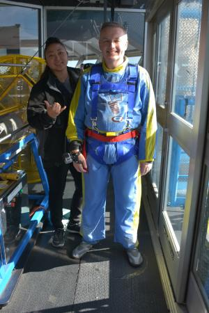 SkyJump Las Vegas: Why am I doing this?