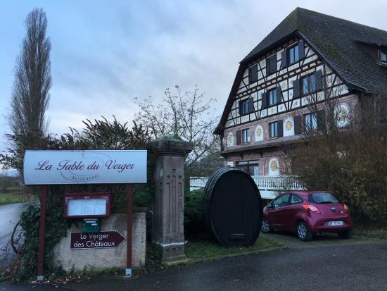 Dieffenthal, Frankrike: Hotel de dehors