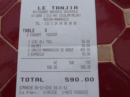 Restaurant Paris Tripadvisor Note