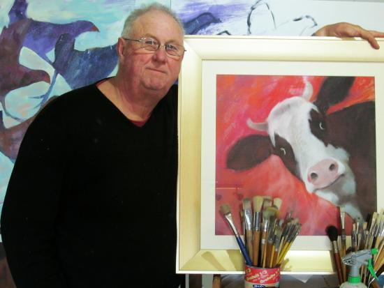 Clarence Point, Australia: Resident artist