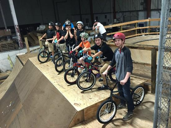 Ollie's Skatepark: New Ollie's Section
