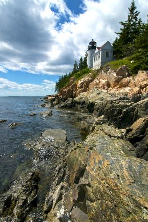 Ellsworth, ME: Bass Harbor Life (image stretched on canvas)