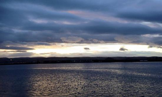 North Kessock, UK: view from the double room