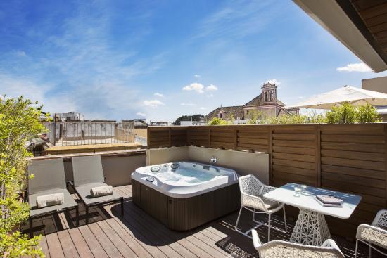 Suite 1800 con terraza y jacuzzi foto di hotel casa 1800 - Terraza con jacuzzi ...
