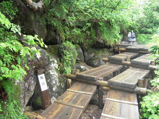 Tsugaike Natural Park: 風穴