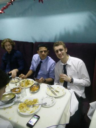 Tariq Manzils: Great curry as always at Manzils