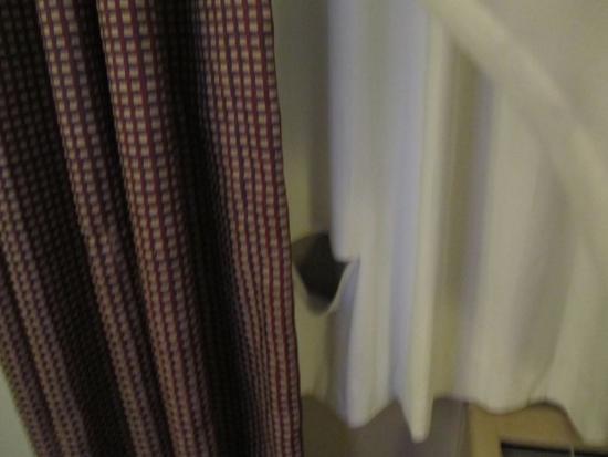 Days Inn by Wyndham St Augustine/Historic Downtown: curtain