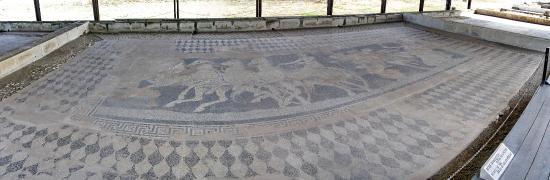 Macedonia central, Grecia: Archaeological Site at Pella, Central Macedonia, Greece