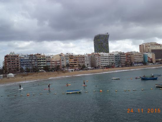 Playa de Las Canteras: Blick auf den Strand Las Canteras