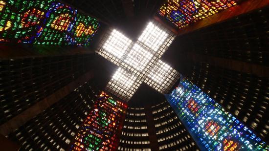 Resultado de imagem para Catedral Metropolitana de São Sebastião do Rio de Janeiro