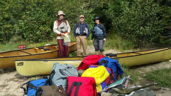 Hungry Jack Canoe Outfitters and Cabins : Now where was that portage?