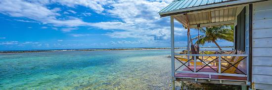 Tobacco Caye, Belize: Can you beat this view?