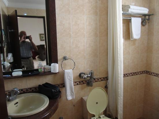 Lytton Hotel: Bathroom, room 305