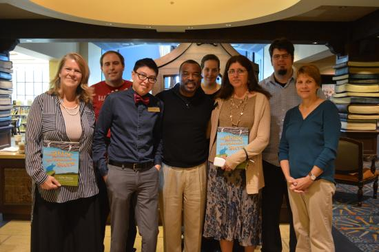 Camarillo Public Library: Levar Burton tapes a Reading Rainbow episode at the library