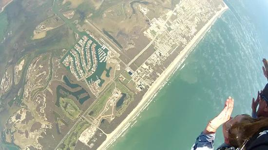 Skydive South Texas on Mustang Island : What a rush!