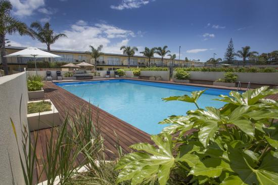 Palm Pacific Resort Whangamata: Large Swimming Pool