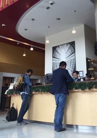 Sonesta Hotel Bogota: Reception area