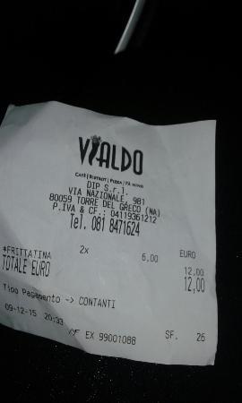 Торре-диль-Греко, Италия: Due timballi  da asporto , 12 €. Attesa più  di 15 min. Ladri.