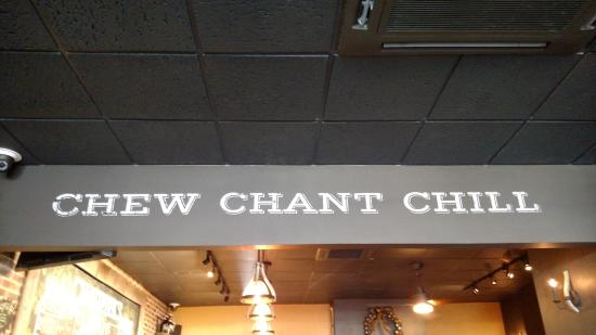 West Reading, Pennsylvanie : The Chatty Monk's mantra