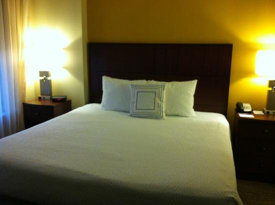 Residence Inn Sacramento Downtown at Capitol Park: king bed