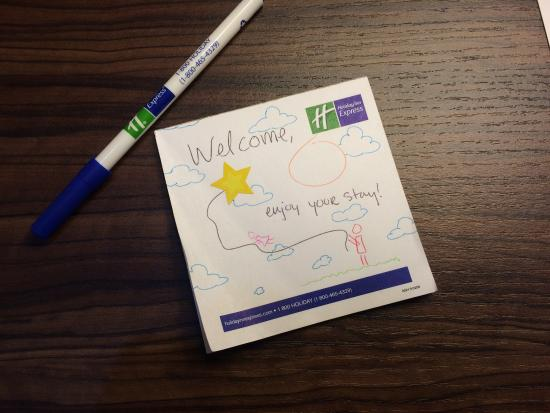 Holiday Inn Express: Personal touches