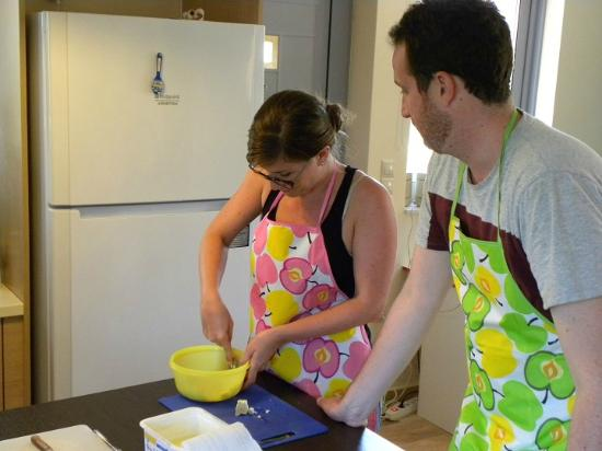 Asini, Yunani: Hands on cooking classes