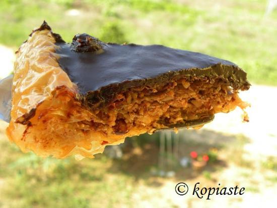 Asini, Griekenland: Chocolate Baklavas