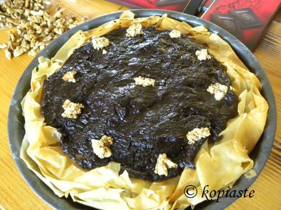 Asini, Griekenland: Chocolate Baklavas Tart