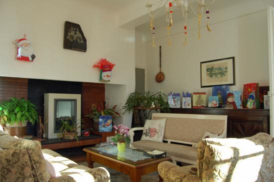 Salon Decoration Pour Noel - Picture Of La Maison D'Antan, Arzacq