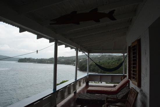 Noel Coward's Blue Harbour: The veranda