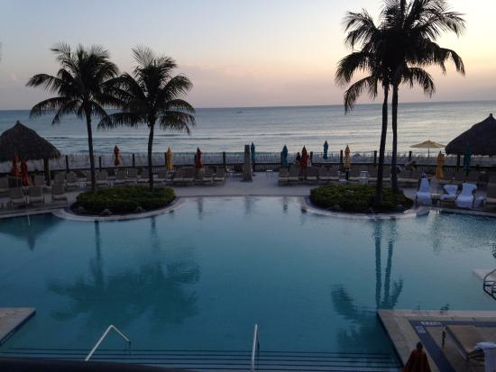 The Ritz Carlton Sarasota Sunset At Beach Club Pool