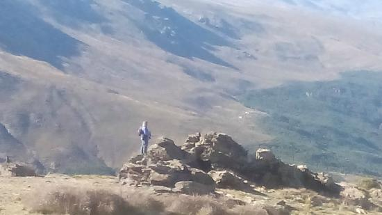 Laroles, Espanha: View on top of the mountain,