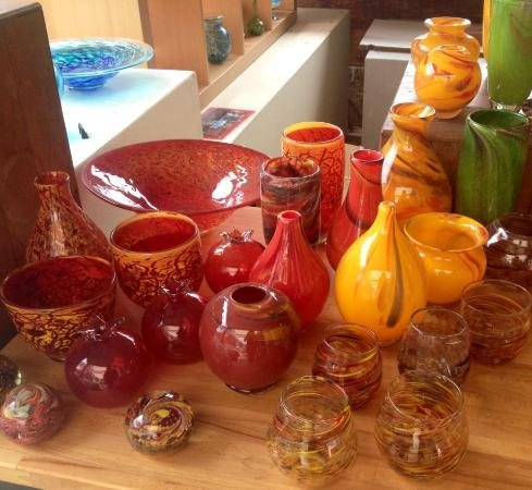 Vases And Bowls Handmade Blown Glass By Gerry Reilly Picture Of