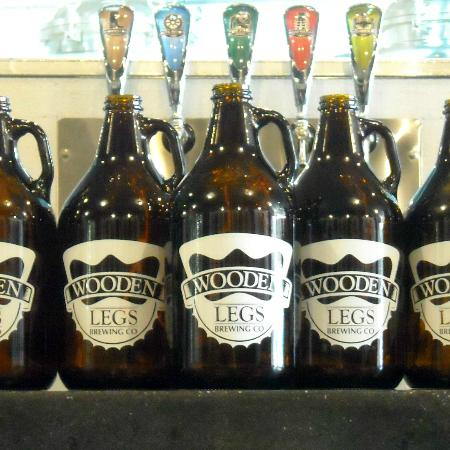 Growlers Picture Of Wooden Legs Brewing Company Brookings